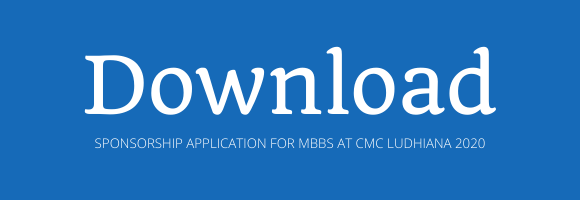SPONSORSHIP APPLICATION FOR MBBS AT CMC LUDHIANA 2020