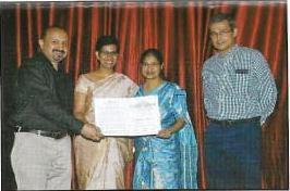 CMC Vellore College Motto Award was bestowed upon Dr Ashita & Dr